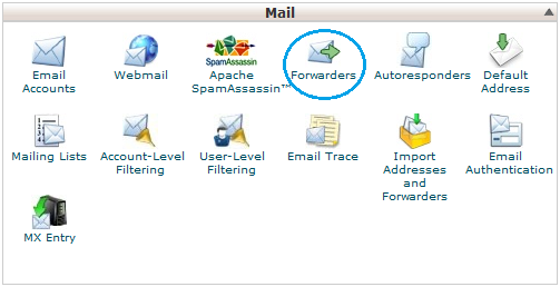 e-mail forwarders